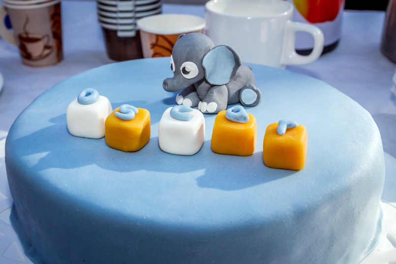 Elephant cake - elefanttårta