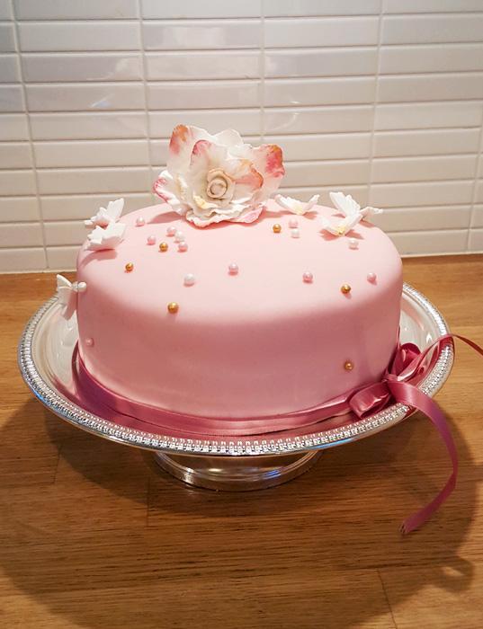 Pink dream cake - rosa drömtårta