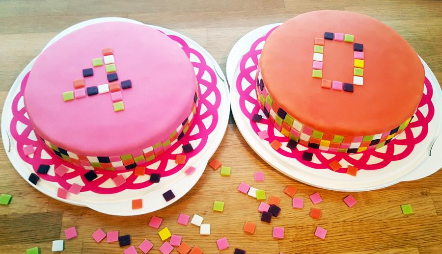 Square cake - fyrkantstårtor