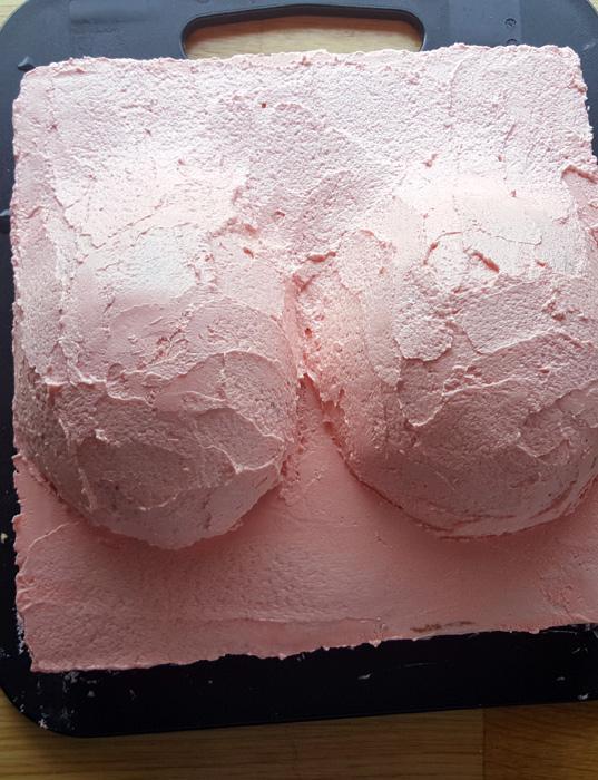 Boob cake - brösttårtan!