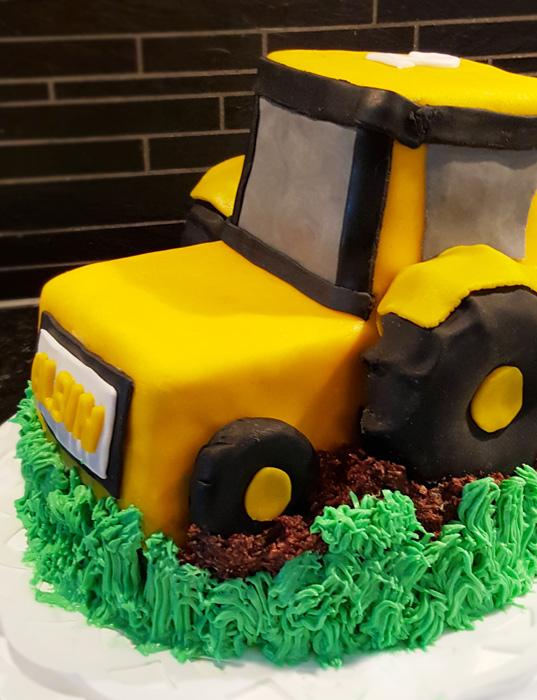 Tractor cake - traktortårta