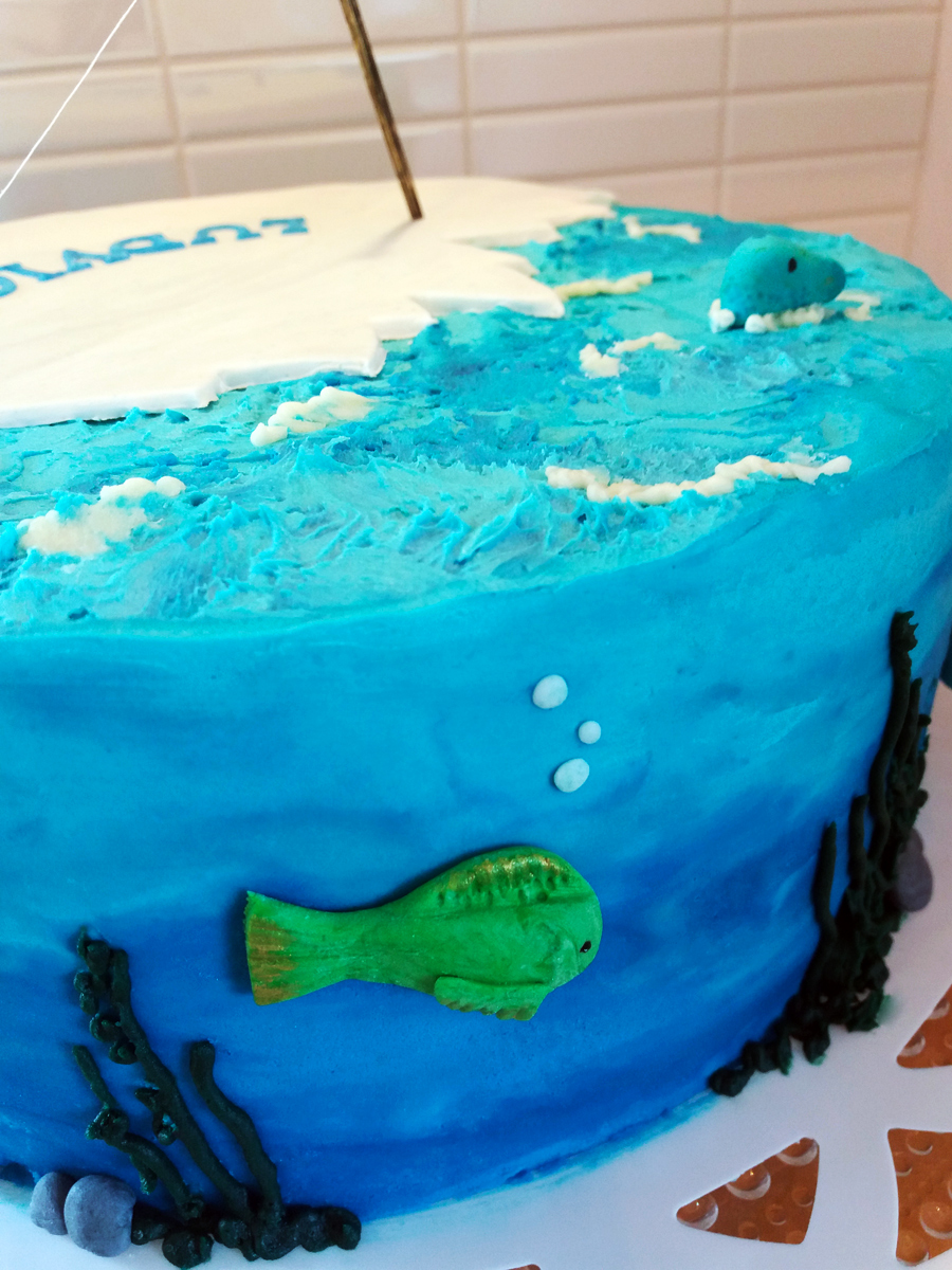 Fishing cake - fisketårta