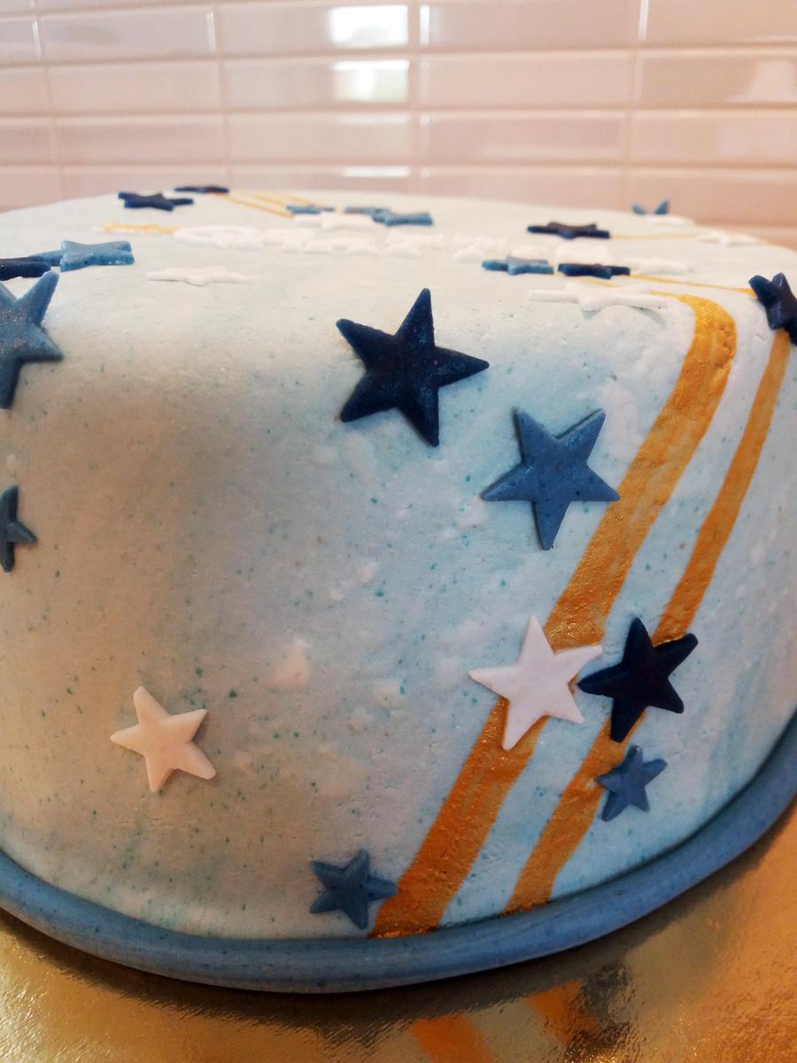 Star cake - stjärntårta