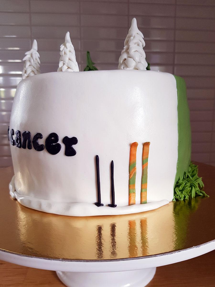 bu cancer tårta cakes by camilla