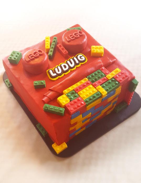 Legotårtan
