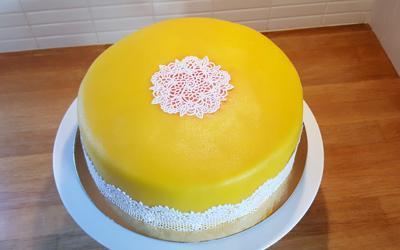 Gula tårtan