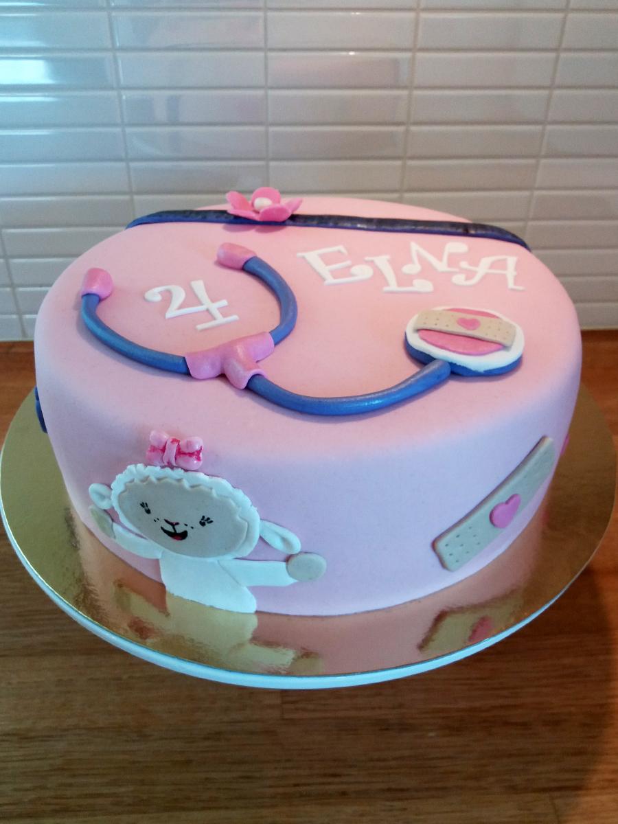 Doc McStuffins-tårtan